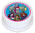 Monster High 16cm Round licensed topper