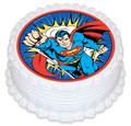 Superman 16cm Round licensed topper