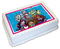 Monster High A4 licensed topper