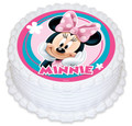 Minnie Mouse 16cm Round licensed topper