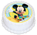 Mickey Mouse 16cm Round licensed topper