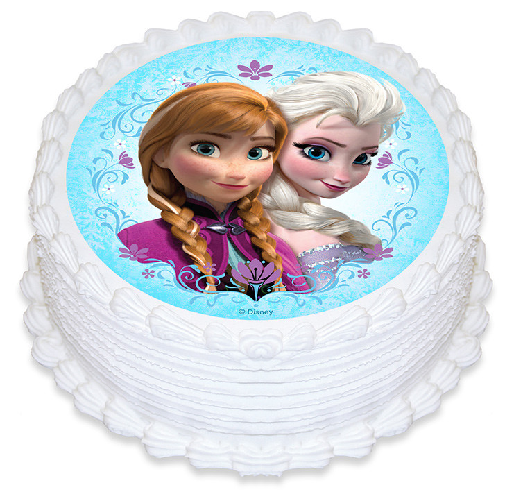Disney Frozen Cake Edible Images