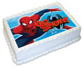 Spiderman001 A4 licensed topper