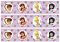 Tinkerbell and the fairies cake strips