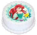 Ariel 16cm Round licensed topper