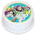Buzz 16cm Round licensed topper