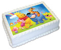 Winnie the Pooh A4 licensed topper