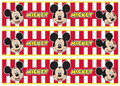 Mickey Mouse cake strips