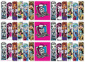 Monster High cake strips