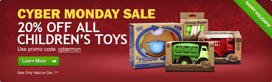 Save 20% on ALL Green Toys