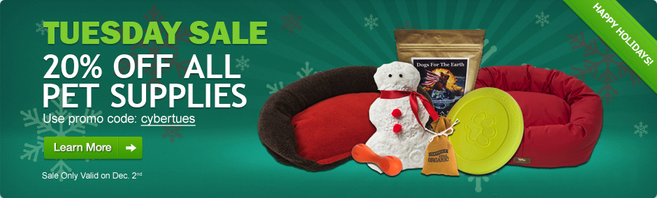 Save 20% on all Pet Products