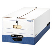 Banker's Box Liberty Max Strength Storage Box, Legal Size, 15w X 10h X 24d, 59% PCR, Carton/12 Boxes