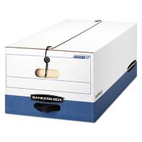 Banker's Box Liberty Max Strength Storage Box, Legal Size, 15w X 10h X 24d, 59% PCR, Carton/12 Boxes