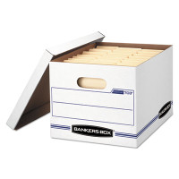 Banker's Box Stor/File Box, Letter/Legal Size 12w X 10h X 15d, 35% PCR, Carton/12 Boxes