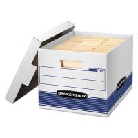 Banker's Box Quick/Stor File Box, Letter/Legal Size 12w X 10 1/4h X 15 1/4d, 35% PCR, Carton/12 Boxes