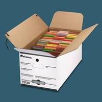 Universal Economy Storage File, Tie Close, Letter Size, 12w X 10h X 24d, 59% PCR, Carton/12 Boxes