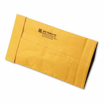 Recycled Jiffy Padded Mailers, Bulk Carton, 5 x 10 Plain Flap