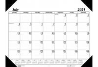 House of Doolittle (HOD12502) Academic Economy Desk Pad 22 x 17