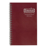 House of Doolittle (HOD274RTG04) Academic Planner with Leatherette Cover, Burgundy 5 x 8