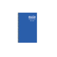 House of Doolittle (HOD274RTG26) Academic Planner with Vibrant Vinyl Cover, Blue 5 x 8