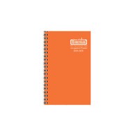 House of Doolittle (HOD274RTG28) Academic Planner wtih Vibrant Vinyl Cover, Orange 5 x 8