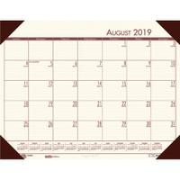 House of Doolittle (HOD012541) Compact Academic Desk Pad Calendar (Cream) 18-1/2 x 13