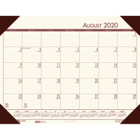 House of Doolittle (HOD012541) Compact Academic Desk Pad Calendar (Cream) 18-1/2 x 13