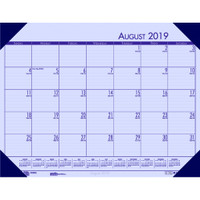 House of Doolittle (HOD012573) Compact Academic Desk Pad Calendar (Orchid) 18-1/2 x 13