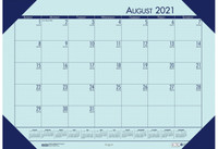 House of Doolittle (HOD012573) Compact Academic Desk Pad Calendar (Orchid) 18-1/2 x 13