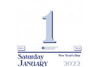 House of Doolittle (HOD311) Today Calendar Refill (for HOD310) 6 x 6