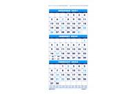 House of Doolittle (HOD3640) Three-Month Calendar 12-1/4 x 26-1/2