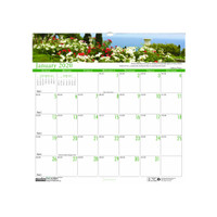 House of Doolittle (HOD301) Earthscapes Gardens of the World Wall Calendar 12 x 12