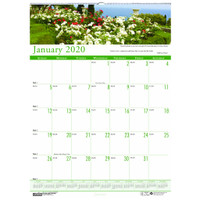 House of Doolittle (HOD302) Earthscapes Gardens of the World Wall Calendar 12 x 16-1/2