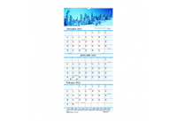 House of Doolittle (HOD3638) Earthscapes Three-Month Wall Calendar 12 1/4x26
