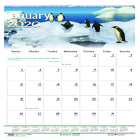 House of Doolittle (HOD3731) Earthscapes Wildlife Wall Calendar 12 x 12