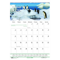 House of Doolittle (HOD373) Earthscapes Wildlife Wall Calendar 15 1/2x22