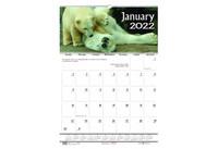House of Doolittle (HOD373) Earthscapes Wildlife Wall Calendar 15 1/2x22
