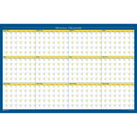 House of Doolittle (HOD642) 12-month Reversible Non-dated Laminated Organizer 36 x 24