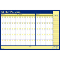 House of Doolittle (HOD637) 90/120-Day Undated Laminated Planner 36 x 24