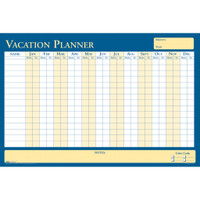 House of Doolittle (HOD639) All Purpose/Vacation Laminated Planner 36 x 24