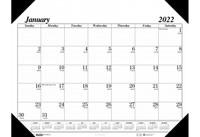 House of Doolittle (HOD124) Economy Desk Pad Calendar 22 x 17 (refillable)