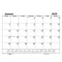 House of Doolittle (HOD126) Economy Desk Pad Calendar Refill 22 x 17