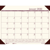 House of Doolittle (HOD12441) Ecotones Desk Pad Calendar, Cream 22 x 17