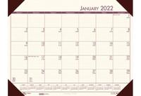 House of Doolittle (HOD12441) Ecotones Desk Pad Calendar, Cream 22 x 17