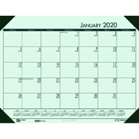 House of Doolittle (HOD12471) Ecotones Desk Pad Calendar, Green 22 x 17