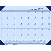 House of Doolittle (HOD12473) Ecotones Desk Pad Calendar, Orchid 22 x 17