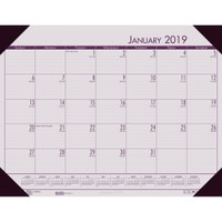 House of Doolittle (HOD12470) Ecotones Desk Pad Calendar, Rose 22 x 17