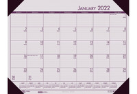 House of Doolittle (HOD12470) Ecotones Desk Pad Calendar, Rose 22 x 17