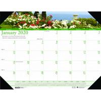 House of Doolittle (HOD174) Earthscapes Gardens of the World Desk Pad Calendar 22 x 17