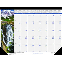 House of Doolittle (HOD1716) Earthscapes Waterfalls of the World Compact Desk Pad Calendar 18 1/2 x 13